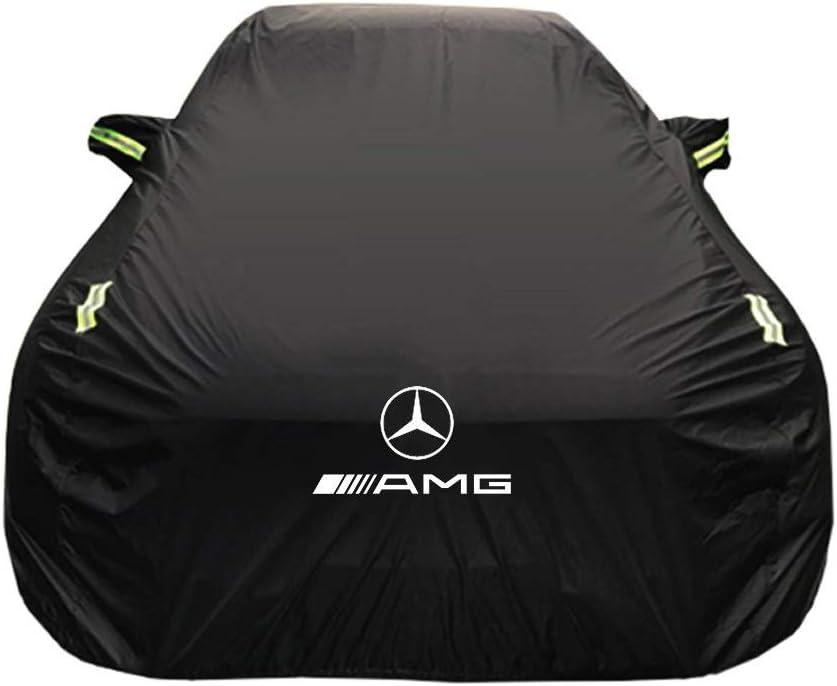 JIANPING-Couverture de voiture Housse anti-pluie en tissu de protection solaire pour Mercedes Size : Oxford cloth - single layer V/éhicule sp/écial Mercedes AMG GT CoverOxford