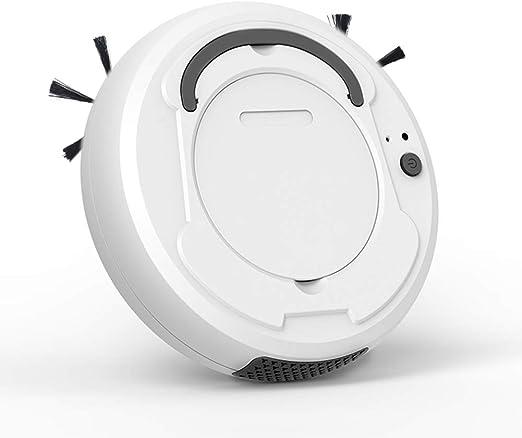 ZHEDAN Robot Aspiradora, Smart MOP Esquinas Piso Limpiador De ...