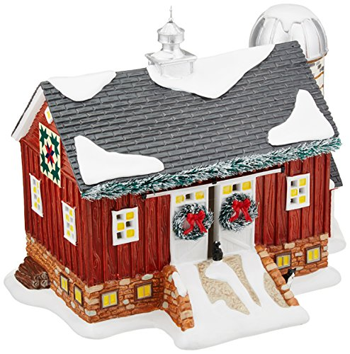 Department 56 Snow Village Mistletoe Farm Lit House