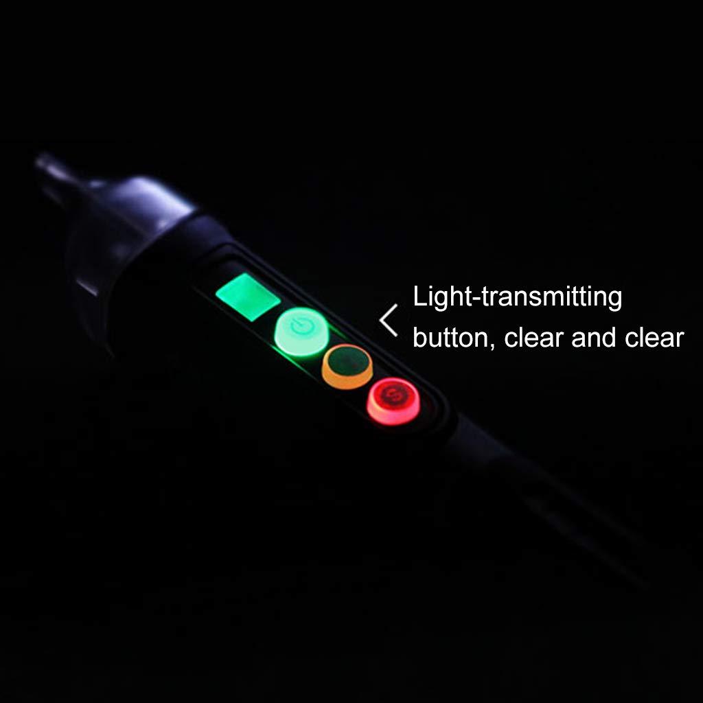BIlinli D/étecteur de Tension sans Contact 12-1000V AC Prise de Courant Testeur en Direct Indicateur Pen