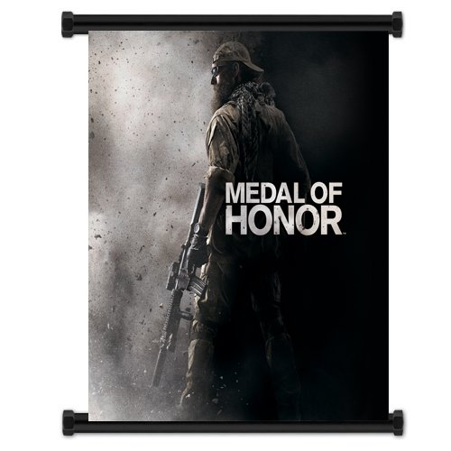 Medal Of Honor Game Fabric Wall Scroll Poster  16 X21   Inches