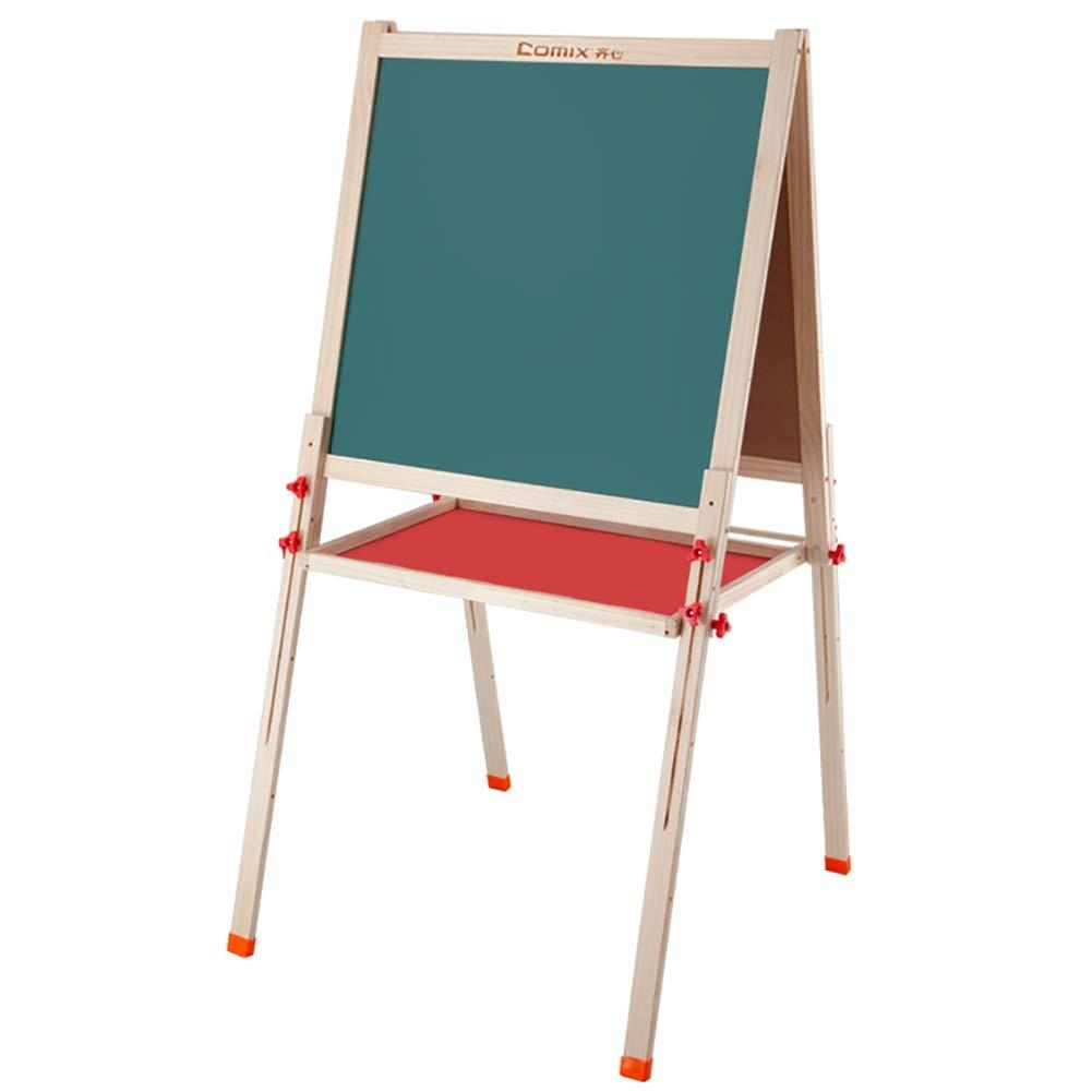 イーゼル 子供のイーゼル絵画は調節可能な技術の高さを改善します、子供の幼児二重味方された黒板 (サイズ さいず : 大 だい) 大 だい  B07S1G5N2G