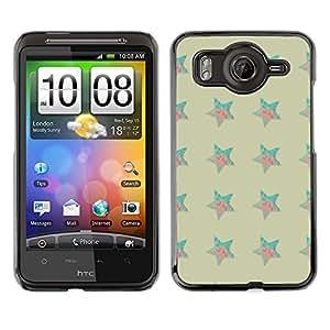 ZECASE Funda Carcasa Tapa Case Cover Para HTC Desire HD G10 No.0000102