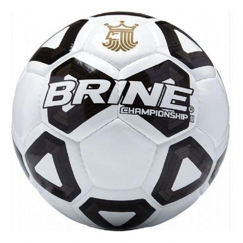 Brine Championship 2.0サッカーボールFootballサイズ5 – New and Improved B06X1GKG96 ブラック ブラック