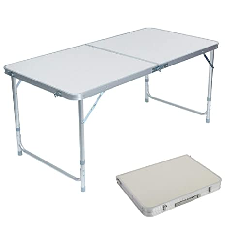 Amazon.com: Lovinland mesa plegable portátil mesa de camping ...