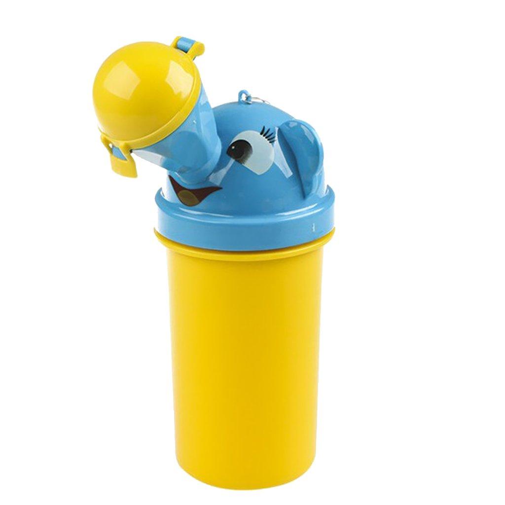 Tragbare Kinder Babytopf Urinal Nottoilette Für Wohnmobil Reise Mädchen - Gelb, one size Generic STK0155009745