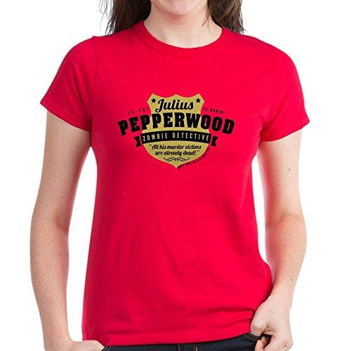 ce2b26324 Amazon.com: CafePress - New Girl Julius Pepperwood Women's Dark T-Shirt -  Womens Cotton T-Shirt: Clothing