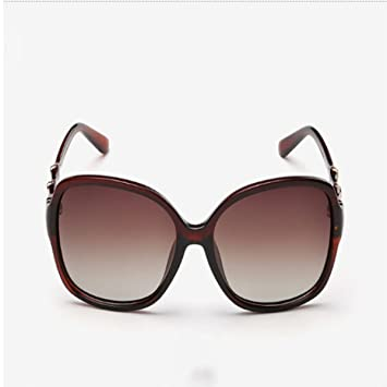 Tianwei Sonnenbrille Frauen Neu Polarisiertes Licht Große Kiste,E