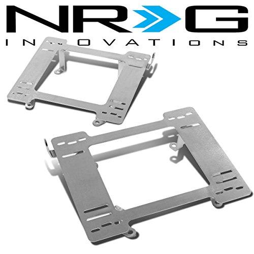 Jeep Wrangler Seat Bracket - NRG For Jeep Wrangler Tensile Stainless Steel Racing Seat Mounting Bracket (Left & Right) - TJ