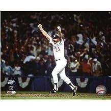 Kirk Gibson LA Dodgers 1988 World Series Action Photo 8x10