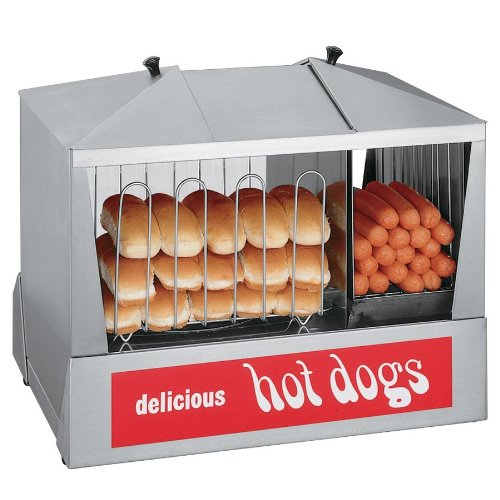 Star-35SSC-Classic-Steampro-Jr-Hot-Dog-Steamer-with-Bun-Warmer-by-Star-Manufacturing