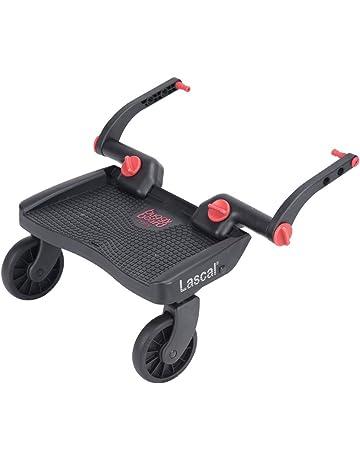 Lascal 2951 Das BuggyBoard 3D - Patín para carrito, color rojo