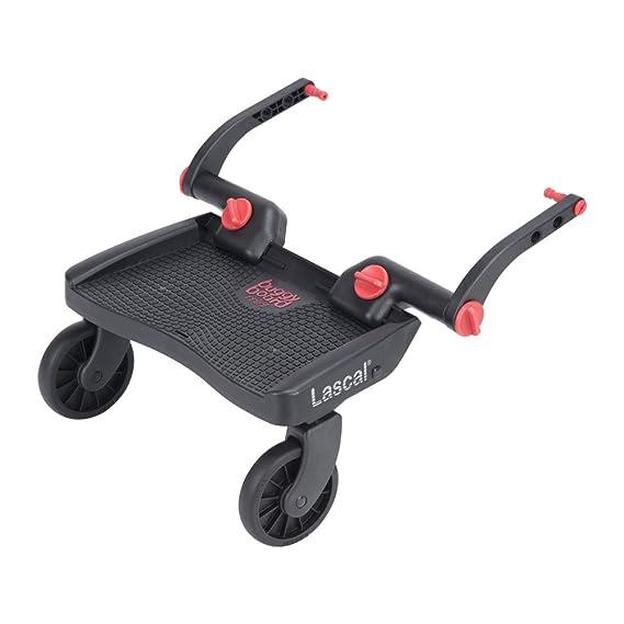 Lascal Buggy Board Mini 3D Red - Plataforma para carrito