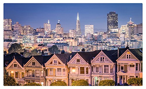 Estados Unidos casas rascacielos San Francisco Noche ciudades ...