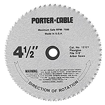 Porter cable 12121 4 12 inch 120 tooth plexiglass cutting trim saw porter cable 12121 4 12 inch 120 tooth plexiglass cutting trim greentooth Choice Image