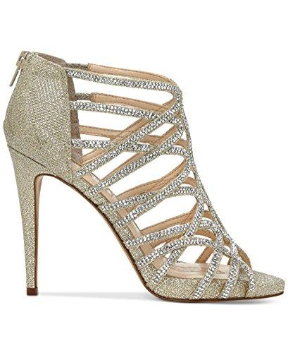 INC International Concepts - Sandalias de vestir para mujer champán