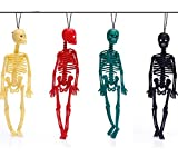 Autumn Water 4pcs/lot New 20cm Scary Halloween Toys Tricky Toys Children's Toys Skeleton Skeleton Model,Key Buckle,Action Figure,Fun Toys