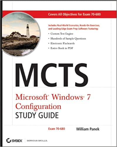 MCTS Windows 7 Configuration Study Guide: Exam 70-680 Download