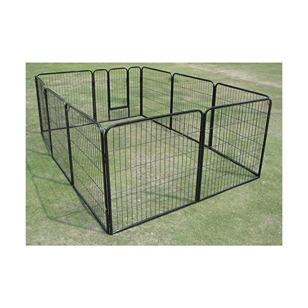 10 x 1200 Tall Panel Pet Dog Cat Exercise Play Pen Enclosure – Animal Protection Playpen Toilet Training with Secure and… Click on image for further info. 5