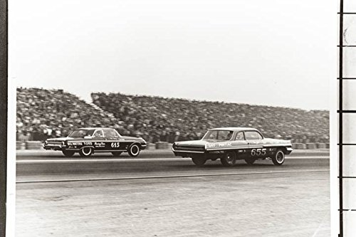 1962 Pontiac Catalina Gay Ford Galaxie Drag Race Photo