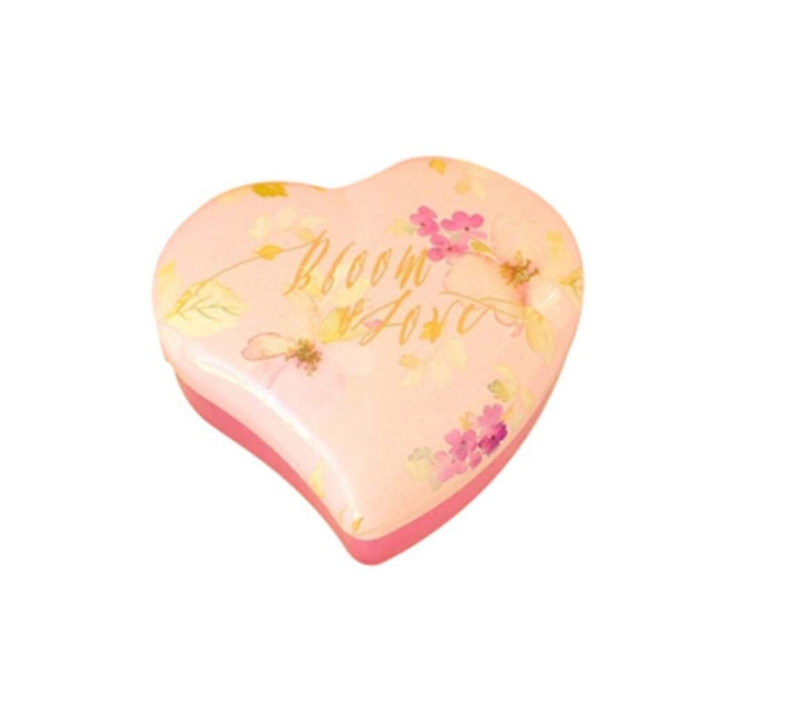 Yunyou Crafts 50pcs Exquisite Heart Shaped Tinplate Candy Box Birthday Storage Box Wedding Candy Box Party Gift