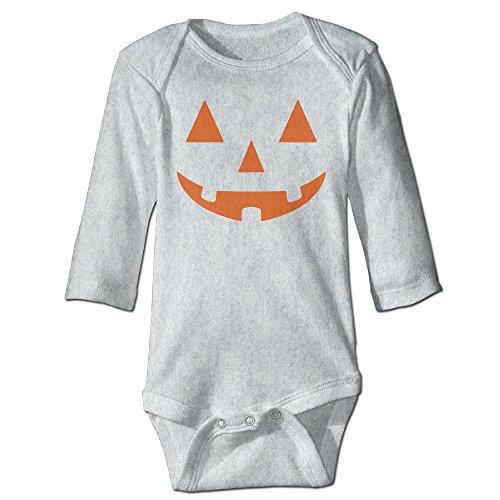 Lantern Pumpkin Halloween Funny Baby Boy Girls Long Sleeve Babys' Crawling Suit Jumpsuit
