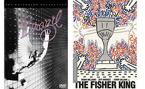 Terry Gilliam Criterion Collection: Brazil 3-DVD Set & The Fisher King 2-Movie Fantasy Comedy Bundle (Master Builder Bridges compare prices)