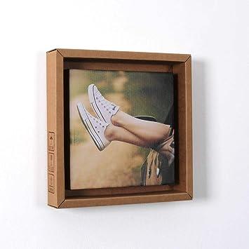 Isonio Pappino Foto Gedruckt Auf Einer Leinwand Aus Pappe
