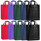 ORICSSON 10 Pack Recycled Polypropylene Reusable Grocery Shopping Bag with ...