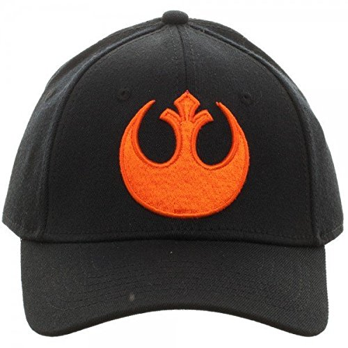 Star Wars Rebel Flex Cap Baseball Hat (Osfm Flex Cap)