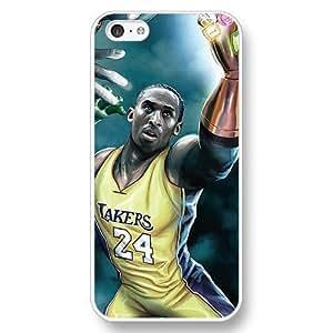 WMSHOPE? iPhone 6 Case Cover NBA SUPERSTAR LAKERS KOBE BRYANT