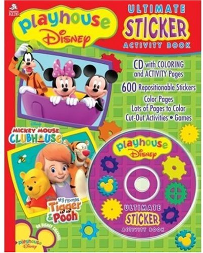 Disney Mickey Mouse Clubhouse Ultimate Sticker Activity Book pdf epub