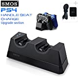 SMOS New Design 2017 PS4 Controllers Automatic Dock Charging Station - Don't Need Insert