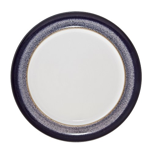 Wide Rimmed Dinner Plate (Denby HEA-003W Heather Dinner Plate, Purple, Medium)