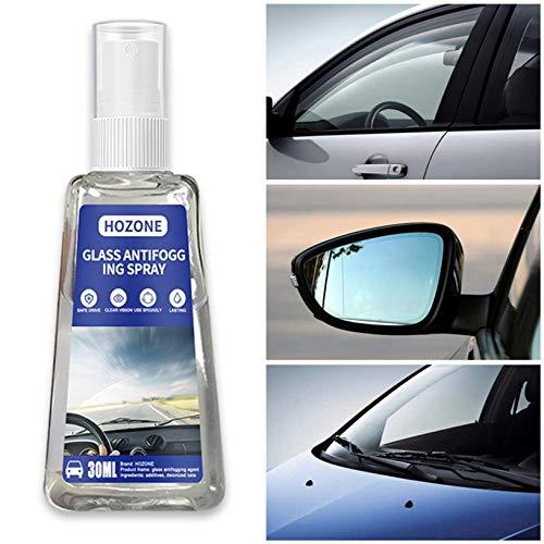 Anti Fog Spray for Glasses Anti Reflective Lenses Prevents Fogging of Glass Plastic Windows for Prevents Fogging of Glass Windows Mirrors, Eyewear Lenses,Glasses BiuBuy (Transparent, 30ML)