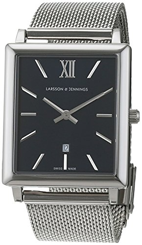 Larsson & Jennings Norse Unisex-Adult Quartz Watch, Analogue Classic Display and Stainless Steel Strap