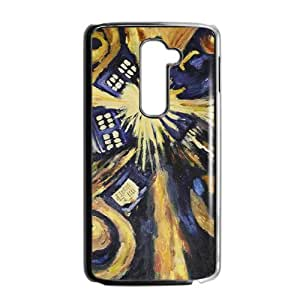 Abstract Art Unique Design [Lightweight] Personalize Rugged Protective Durable Case for LG G2 Smartphone [Non-Slip] Shock Absorbing and Scratch Resistant Perfect 2 in 1