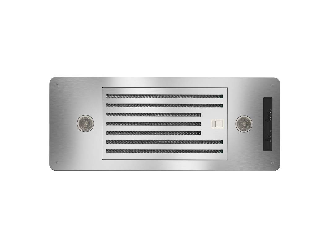 "Zephyr AK8100ASBF 27"" Essentials Power Series Tornado I Cabinet Insert Hood with 600 CFM Baffle filter in Stainless Steel"