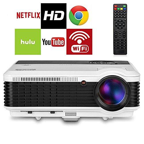 EUG HD LCD Android WiFi Projector HDMI 3600 Lumen  Digita...