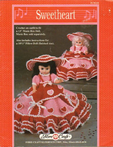 Sweetheart: Crochet an Outfit to Fit Either a 13