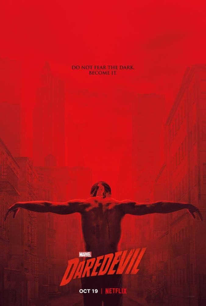 Marvel Daredevil Season 3 Poster auf Seide//Siebdrucke//Tapete//Wanddekoration B19044732