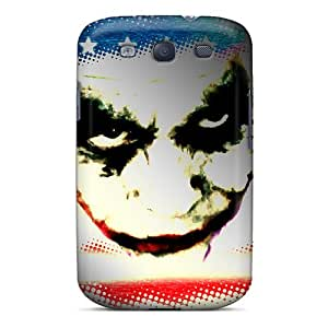 Hot DTwyRae113wdzGx Case Cover Protector For Galaxy S3- Joker Face