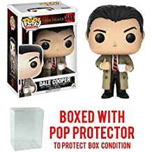 Funko Pop! Television: Twin Peaks - Agent Dale Cooper Vinyl Figure (Bundled with Pop BOX PROTECTOR CASE)