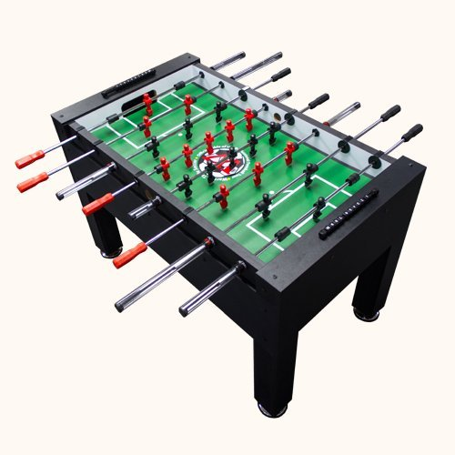 Best Foosball Tables - Warrior Table Soccer Professional Model Top Caliber & Durable Foosball Table