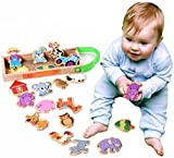 #6: Onshine Refrigerator Magnets Farm Animals Magnetic Wooden puzzle Educational Toys