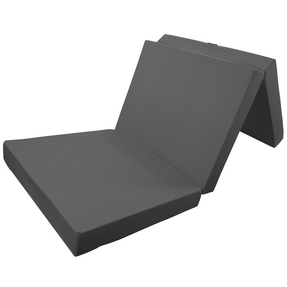 PROHEIM Colchón Plegable Comfort 195 x 80 x 10 cm Cómodo Colchón Plegable Beautissu - Colchón Plegable, tapizado con Microfibra Cama Not Cómoda/Invitados ...