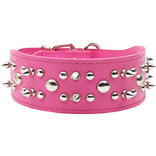 FindingKing Dog Collar Foxy Rodeo Pink 27