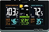 La Crosse Technology 308-1414B Wireless Atomic Digital Color Forecast Station Alerts, Black