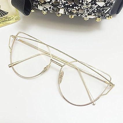Sonnenbrille Frau retro verdorbene Gläser anti UV-Sonnenbrille, Black Box