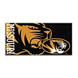Northwest The Company NCAA Missouri Tigers Colossal Oversized Beach Towel, 34-Inch by 70-Inch